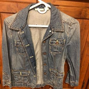Women's DKNY Jean Jacket-Size Small